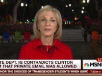 Andrea Mitchell: Hillary Email IG Report 'Devastating'