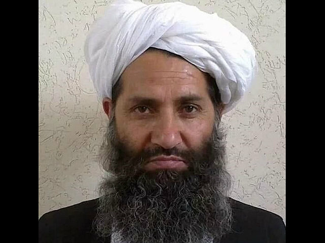 "This undated handout photograph released by the Afghan Taliban on May 25, 2016 shows, according to the Afghan Taliban, the new Mullah Haibatullah Akhundzada posing for a photograph at an undisclosed location. The Afghan Taliban on May 25 announced Haibatullah Akhundzada as their new chief, elevating a low-profile religious figure in a swift power transition after officially confirming the death of Mullah Mansour in a US drone strike. / AFP PHOTO / Afghan Taliban / STR / -----EDITORS NOTE --- RESTRICTED TO EDITORIAL USE - MANDATORY CREDIT ""AFP PHOTO / AFGHAN TALIBAN"" - NO MARKETING - NO ADVERTISING CAMPAIGNS - DISTRIBUTED AS A SERVICE TO CLIENTS"