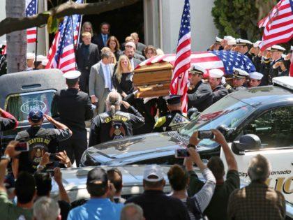 Navy SEAL Charles Keating IV funeral (Sandy Huffaker / Getty)