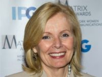 Peggy Noonan arrives to the Matrix Awards in New York, Monday, April 23, 2012. (AP Photo/Charles Sykes)