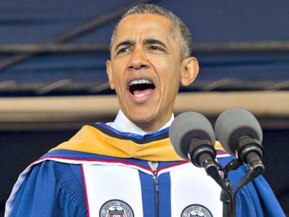 Obama at Howard Getty