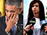 Obama crying JIM WATSONAFPGETTY IMAGES and Transgender Boy