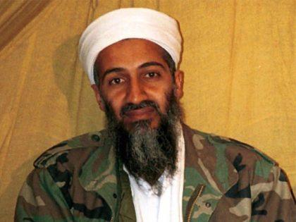 This undated file photo shows al Qaida leader Osama bin Laden in Afghanistan
