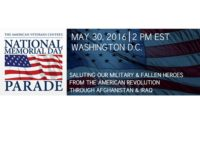 Watch Live: The 2016 National Memorial Day Parade