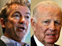 Rand Paul AP and James Baker Getty