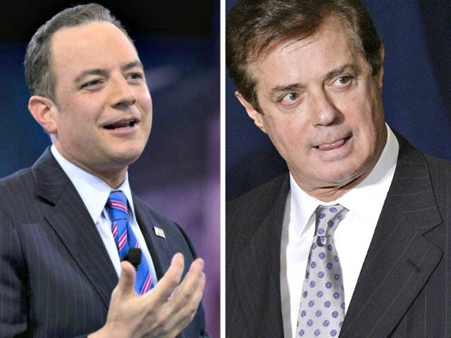 Reince Priebus and Paul Manafort