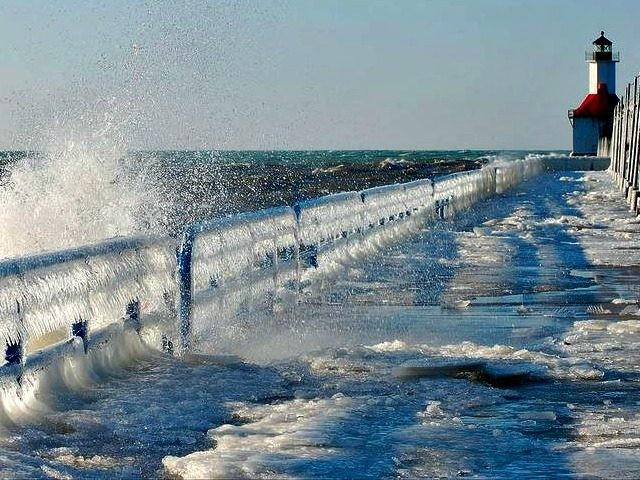 Rising Lake Michigan TOM GILLFLICKR