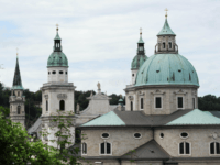 Salzberg Cathedral, seat of Bishop Andreas Laun
