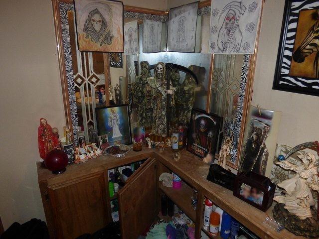 Santa Muerte Shrine