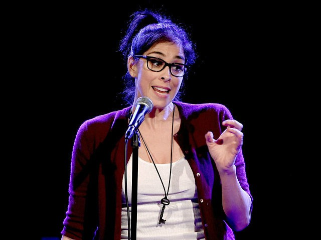 LOS ANGELES, CA - MARCH 09: Actress/comedian Sarah Silverman performs at the Teragram Ballroom for The Post Pop Depression Tour on March 9, 2016 in Los Angeles, California. (Photo by Kevin Winter/Getty Images)