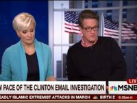Scarborough: If Anybody 'Mishandled' Classified Info the Way Hillary Has, They 'Would Be in Jail Right Now'