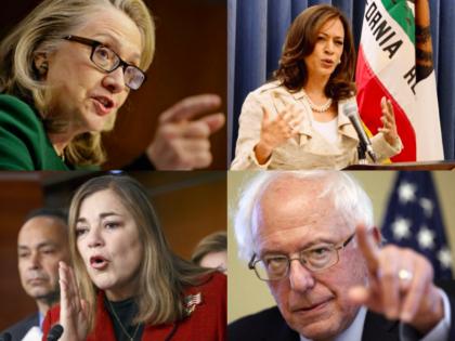 California Democratic primary (Wire services)