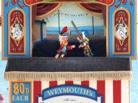 Punch and Judy puppet show Seaside
