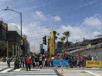 LA Metro Santa Monica (Joel Pollak / Breitbart News)