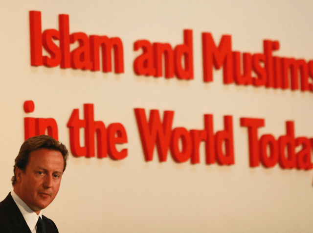 David Cameron Muslims