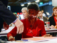 WATCH: Left Wing German Politician Caked For Questioning Open Borders