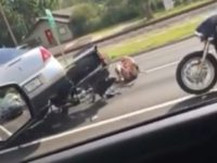 WATCH: Road Rage Video Shows Driver Running Over Bikers