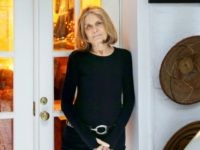 In this Oct. 19, 2015, file photo, Gloria Steinem poses for a picture at her home in New York.