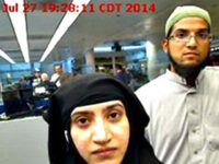 Syed Farook and U.S. Customs and Border Protection via AP