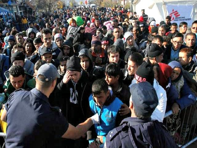 Syrian Refugees Darko Vojinovic AP