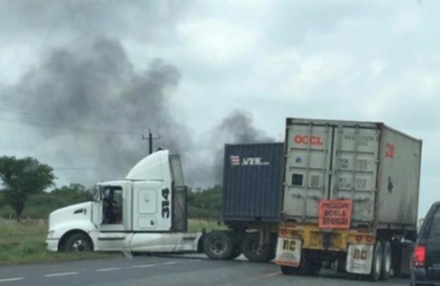 Tamaulipas cartel blockade 3