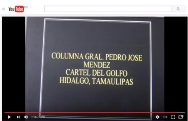 Tamaulipas cartel blockade 5