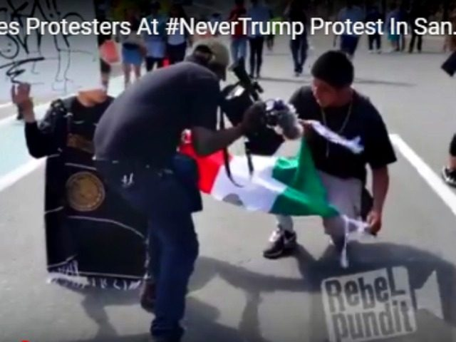 Telemundo Staging Shot at Protest Rebel Pundit