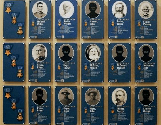 Texas Medal of Honor Memorial in State Capitol