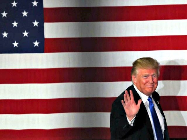 Trump Flag Wave Mel Evans, AP