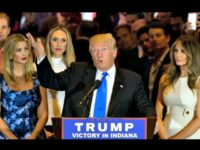 Presumptive Nominee Donald Trump Aims at Hillary, Cruz Clears the Way