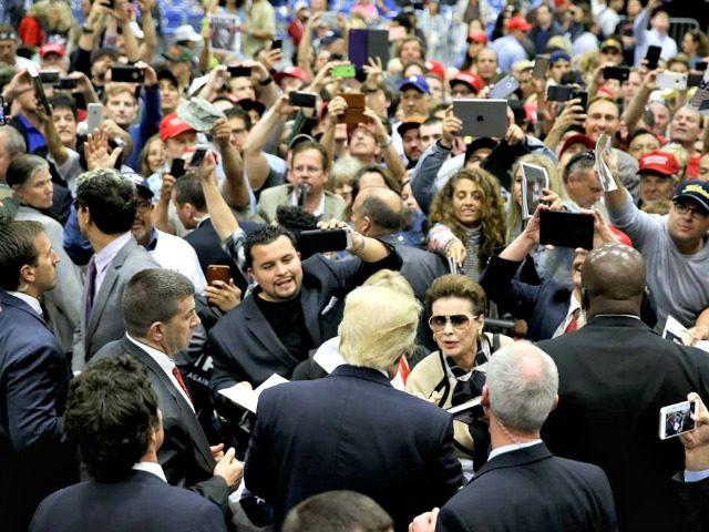 Trump Rally San Diego AP