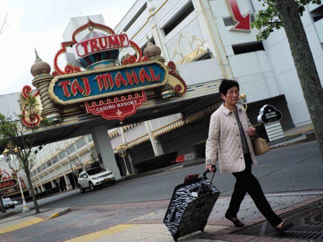 Trump Taj Mahal casino (Jewel Samad / AFP / Getty)
