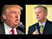 Trump and Graham AP