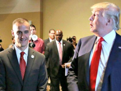 Trump and Lewandowski Charlie NeibergallAP