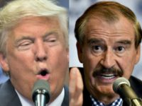 Trump and Vicente Fox AP Getty