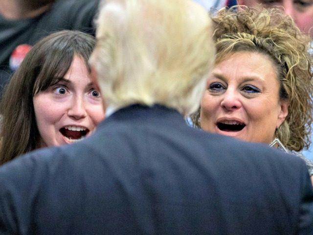 Trump with Women AP