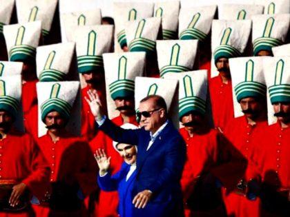 Turkey Erdogan and Wife Reuters