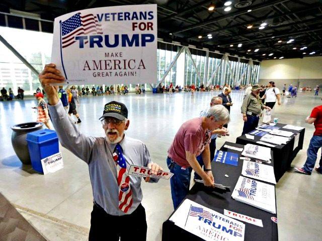 Vets for Trump AP Ted S. Warren