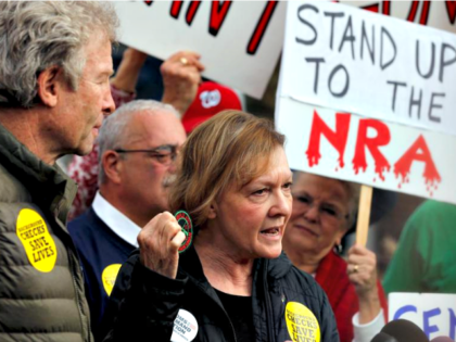 Victim Mom for Gun Control Reuters