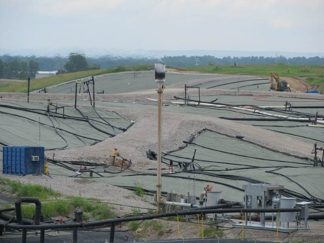 West Lake Landfill near St. Louis, Missouri July, 2014