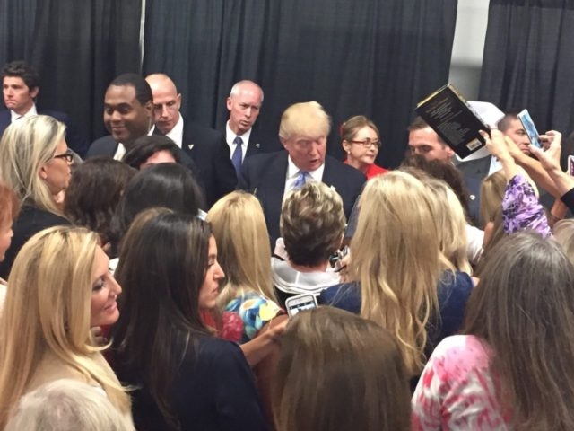 Women in Business for Donald Trump (Michelle Moons / Breitbart News)