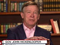 Gov Hickenlooper: If Hillary Was A Man, She Would Face Less Criticism