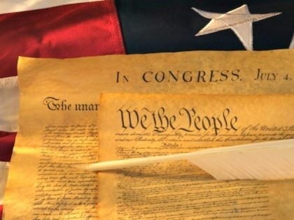 Historic documents of the USA (Photo by: Tetra Images/AP Images)