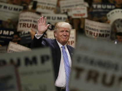 GOP 2016 Trump Back to search results381of19,128 results GOP 2016 TRUMP Overview Get price Republican presidential candidate Donald Trump waves to the crowd as he arrives at a rally at the Anaheim Convention Center, Wednesday, May 25, 2016, in Anaheim, Calif. (AP Photo/Jae C. Hong)