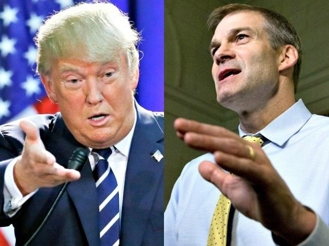 donald_trump and jim jordan AP Photos
