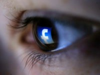A picture illustration shows a Facebook logo reflected in a person's eye, in Zenica, March 13, 2015. REUTERS/Dado Ruvic A picture illustration shows a Facebook logo reflected in a person's eye, in Zenica, March 13, 2015. REUTERS/DADO RUVIC