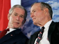 Bush 41, Bush 43 Staying Out of 2016 — Will 'Stay Silent'