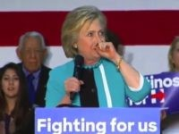 Watch: Hillary Clinton Has Another Coughing Spell