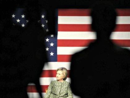 Democratic presidential hopeful Hillary Clinton participates in panel discussion on gun violence in Port Washington, N.Y., Monday, April 11, 2016. (AP Photo/Seth Wenig)