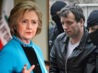 Hillary Clinton and Marcel Lazar